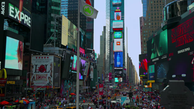 times square, manhattan, new york, usa - low section stock videos & royalty-free footage