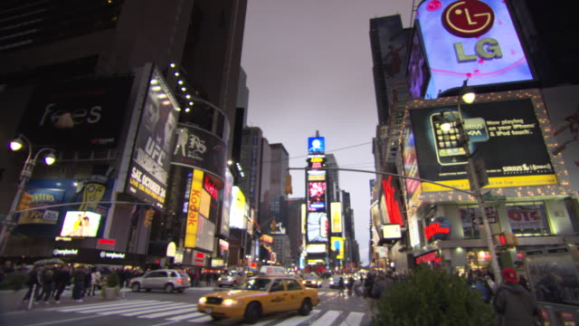 times square, new york city, usa - bizarre fashion stock videos and b-roll footage