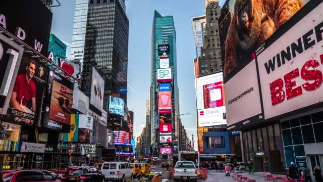 times square new york city - times square manhattan stock videos & royalty-free footage