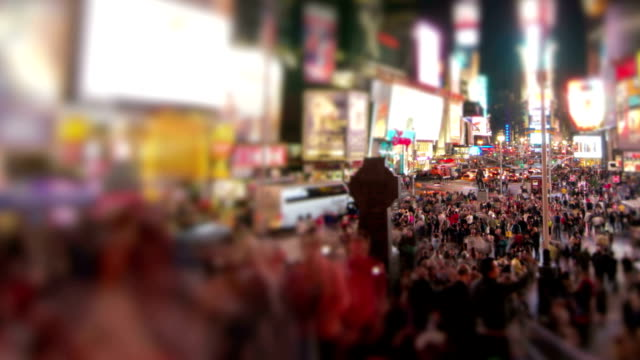 times square pan - times square manhattan stock videos & royalty-free footage