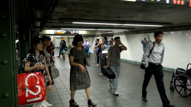 Times Square, Subway Walk Path, New York City