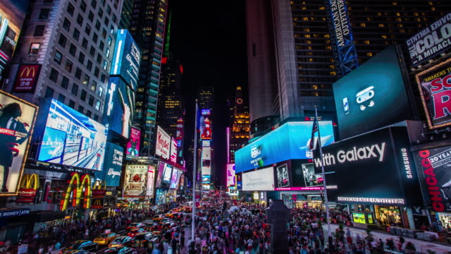 times square - time lapse stock video - times square manhattan stock videos & royalty-free footage