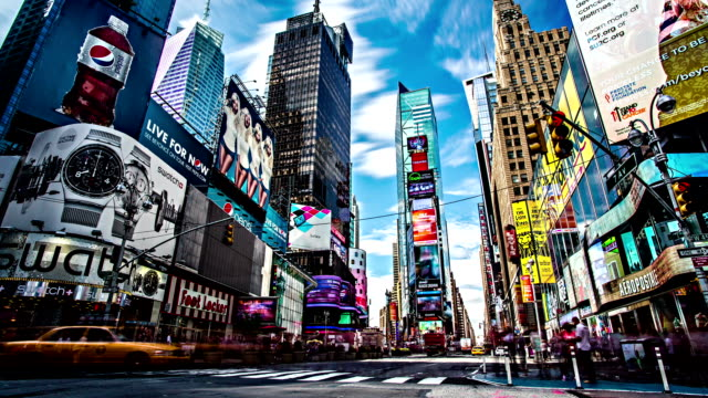 times square timelapse vetta - times square manhattan stock videos & royalty-free footage
