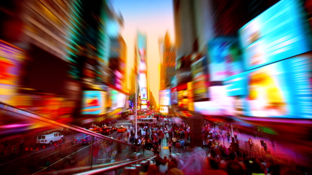 times square - ideas stock videos & royalty-free footage