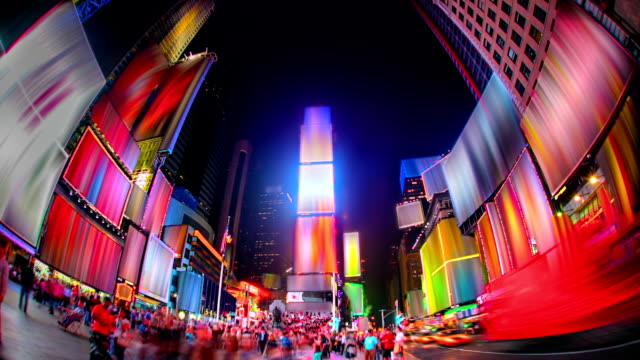 stockvideo's en b-roll-footage met times square. - advertentie