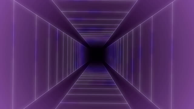time-space vortex tunnel loop animation - magnetism stock videos & royalty-free footage