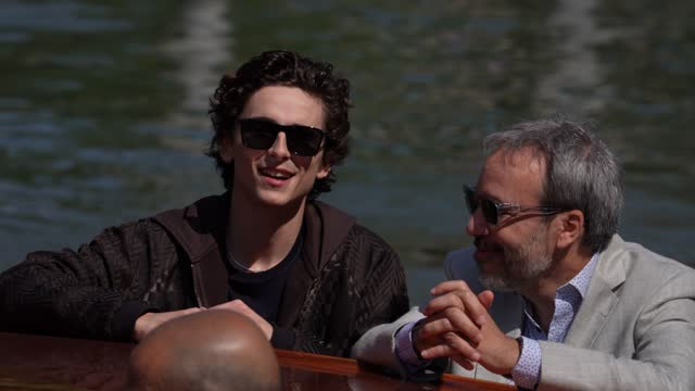timothée chalamet is seen arriving at the 78th venice international film festival on september 3, 2021 in venice, italy. - celebrity sightings stock videos & royalty-free footage