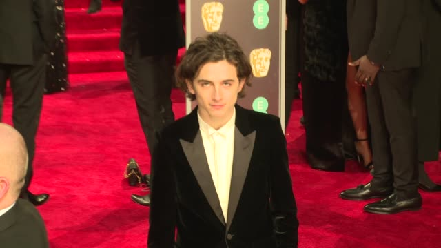 Timothee Chalamet at Royal Albert Hall on February 18 2018 in London England
