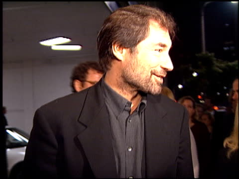 Timothy Dalton at the Premiere of 'The Crossing Guard' on November 9 1995