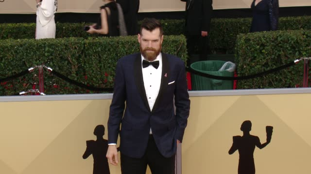 Timothy Simons at the 24th Annual Screen Actors Guild Awards at The Shrine Auditorium on January 21 2018 in Los Angeles California