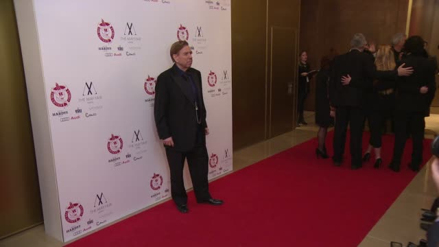 stockvideo's en b-roll-footage met timothy spall at london critics circle awards - criticus