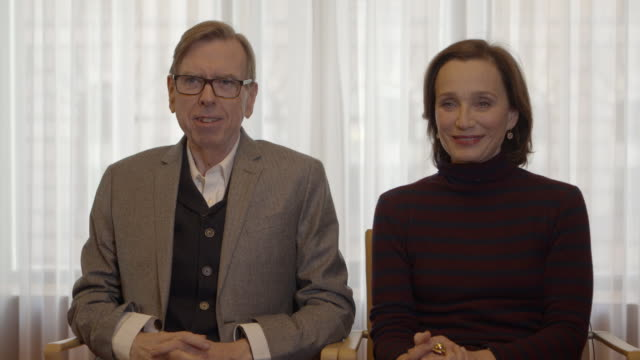 INTERVIEW Timothy Spall on the hit and miss success of making films at Berlin Film Festival 'The Party' Interviews at Regent Hotel on February 14...