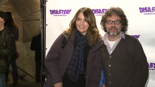 Tina Fey and Jeff Richmond at The Opening Night of DISASTER OffBroadway St Luke's Theater on 11/4/13 in New York City