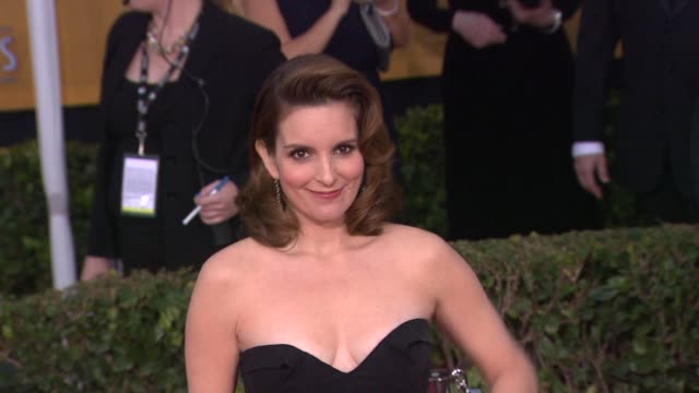 Tina Fey at 19th Annual Screen Actors Guild Awards Arrivals 1/27/2013 in Los Angeles CA