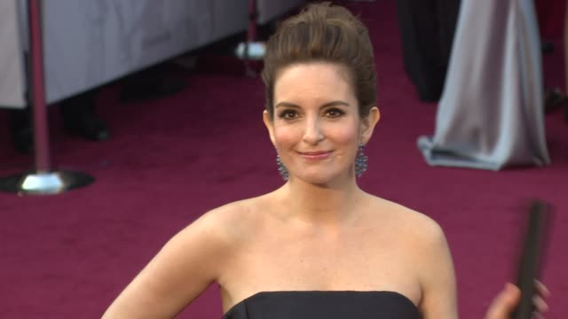Tina Fey at 84th Annual Academy Awards Arrivals on 2/26/12 in Hollywood CA
