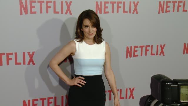 Tina Fey at Netflix's Series Unbreakable Kimmy Schmidt QA Screening Event at Pacific Design Center on June 07 2015 in West Hollywood California