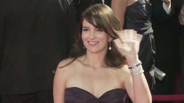 Tina Fey at the 60th Primetime Emmy Awards at Los Angeles CA