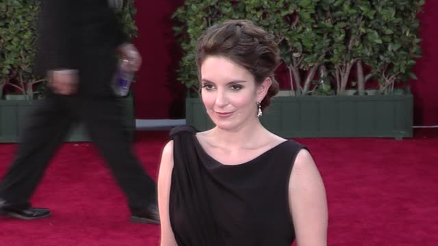 Tina Fey at the 61st Annual Primetime Emmy Awards Arrivals Part 4 at Los Angeles CA