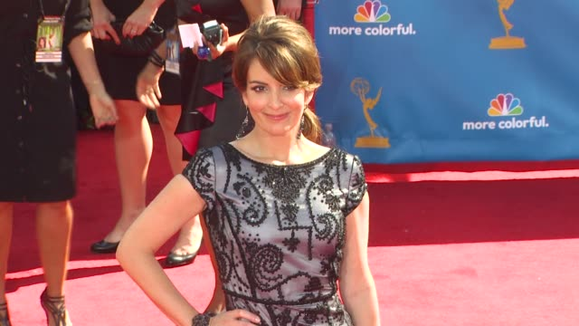 Tina Fey at the 62nd Primetime Emmy Awards Arrivals Part 2 at Los Angeles CA