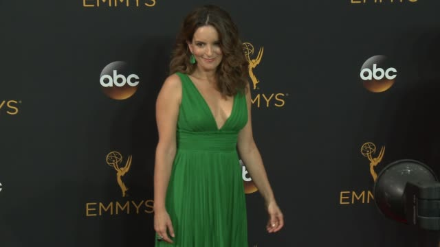 Tina Fey at the 68th Annual Primetime Emmy Awards Arrivals at Microsoft Theater on September 18 2016 in Los Angeles California