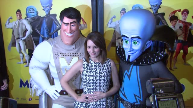 Tina Fey at the 'Megamind' New York Premiere at New York NY