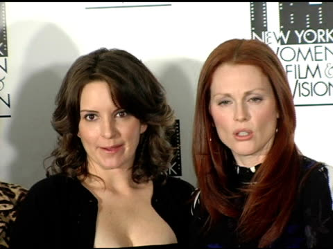 Tina Fey Honoree and Julianne Moore honoree at the 25th Annual Muse Awards for Outstanding Vision and Achievement at the Hilton Hotel in New York New...