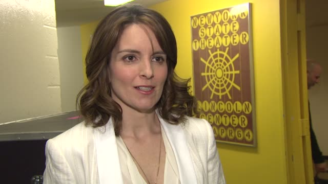 Tina Fey jokes that her summer camp was working at a snack bar at a pool at A Celebration of Paul Newman's Dream to Benefit the SeriousFun Children's...