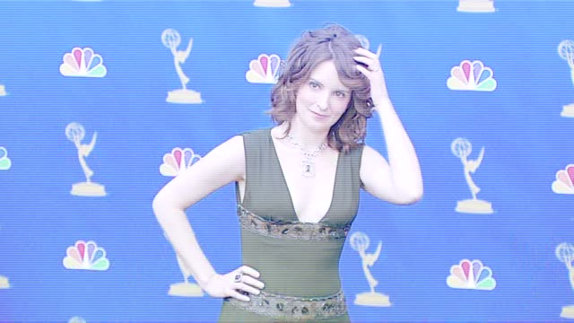 Tina Fey presenter at the 2006 Emmy Awards press room at the Shrine Auditorium in Los Angeles California on August 27 2006