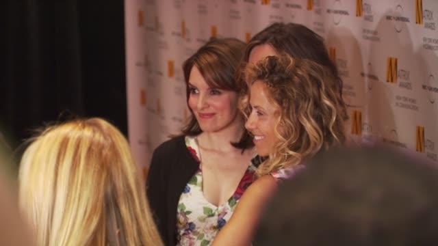 tina fey sheryl crow and mariska hargitay at the 2009 matrix awards at new york ny - sheryl crow stock videos and b-roll footage