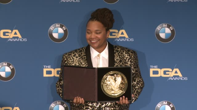 tina mabry at 69th annual directors guild of america awards in los angeles, ca 2/4/17 - director's guild of america stock videos & royalty-free footage