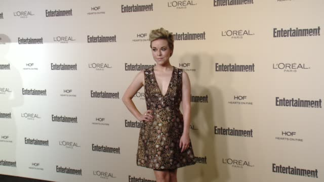 tina majorino at entertainment weekly's preemmy celebration at fig olive melrose place on september 18 2015 in west hollywood california - entertainment weekly stock videos and b-roll footage