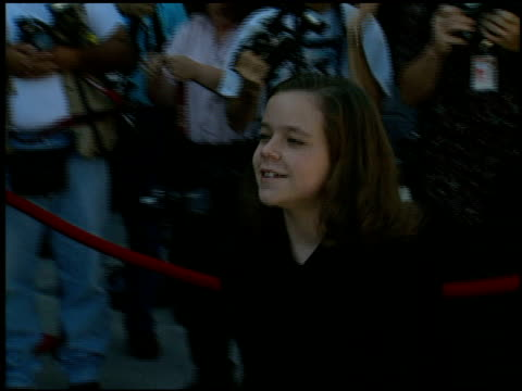 tina majorino at the family film awards at cbs television city in los angeles california on august 22 1996 - tina majorino stock videos and b-roll footage