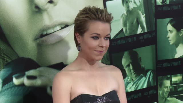 tina majorino at veronica mars los angeles premiere at tcl chinese theatre on march 12 2014 in hollywood california - tina majorino stock videos and b-roll footage