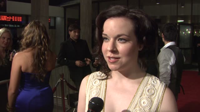 tina majorino on what she likes about her character what to expect from season 3 and how it's different and how she thinks everybody has something to... - tina majorino stock videos and b-roll footage