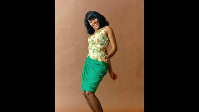 GIF Tina Turner of the husbandandwife RB duo Ike Tina Turner poses for a portrait in 1964