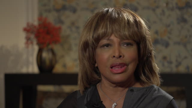 Tina Turner on producing the vocals for Bono's song for the James Bond film 'Goldeneye'