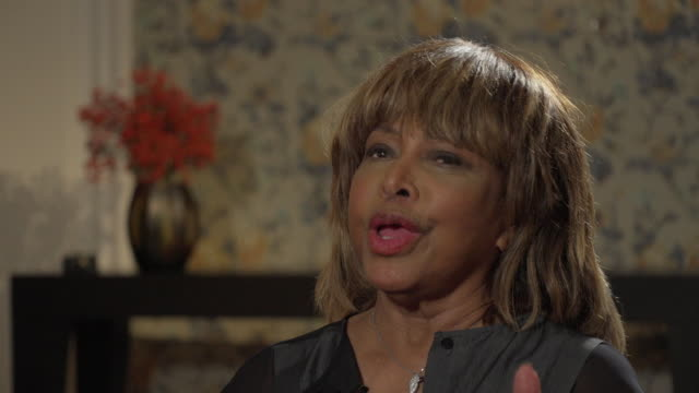 Tina Turner saying 'I am happier than I ever thought that life would become for me'