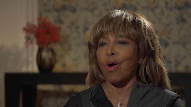 Tina Turner saying 'I will always be Tina'