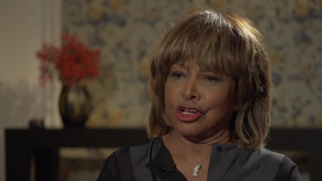 Tina Turner talks about her reaction after receiving her stroke diagnosis in hospital