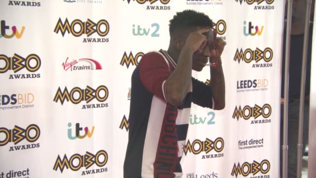 Tinchy Stryder at MOBO Awards at First Direct Arena on November 4 2015 in Leeds England