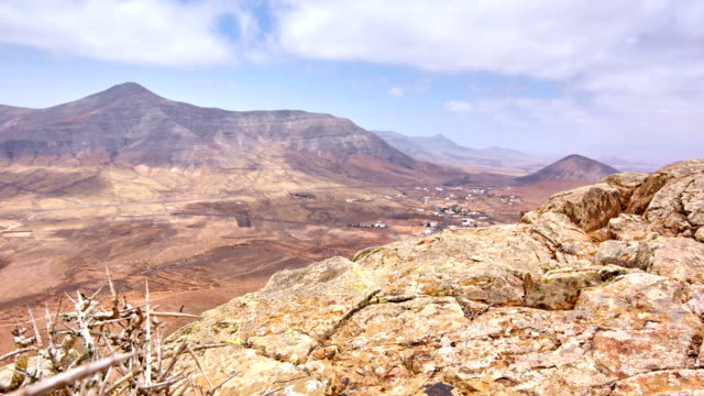 tindaya mountain top time lapse - fuerteventura - igneous stock videos and b-roll footage