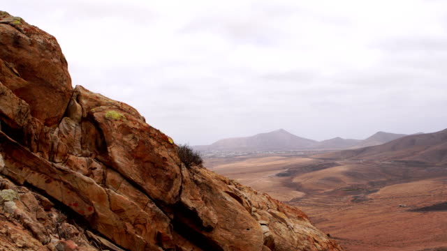 tindaya mountain views looking towards east - fuerteventura - igneous stock videos and b-roll footage