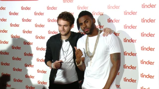 tinder plus launch party featuring jason derulo and zedd on june 17, 2015 in santa monica, california. - addition key stock videos & royalty-free footage
