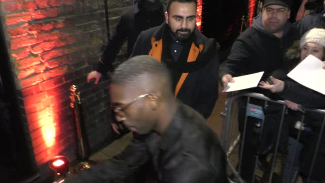 tinie tempah attends a warner records brit awards 2020 after party at chiltern firehouse on february 18 2020 in london england - ブリット・アワード点の映像素材/bロール