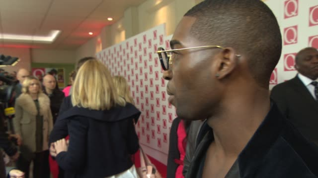 INTERVIEW Tinie Tempah on his new album at Q Awards 2013 at The Grosvenor House Hotel on October 21 2013 in London England