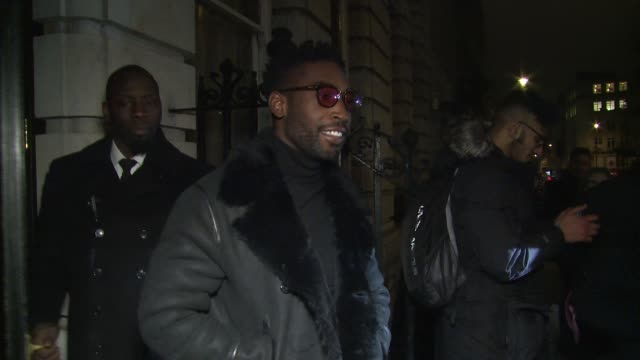 Tinie Tempah on January 08 2018 in London England