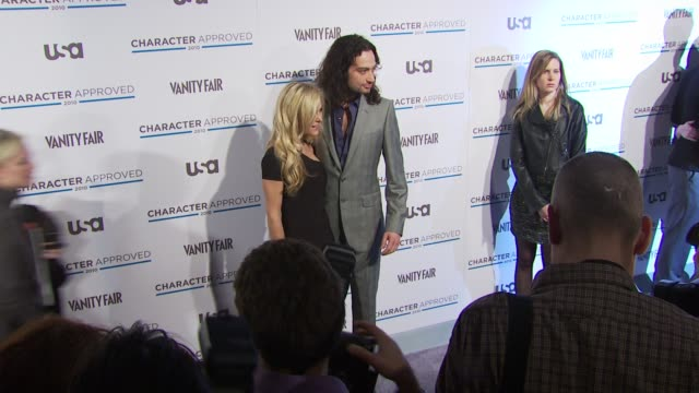 Tinsley Mortimer and Constantine Maroulis at the 2nd Annual Character Approved Awards Cocktail Reception at New York NY