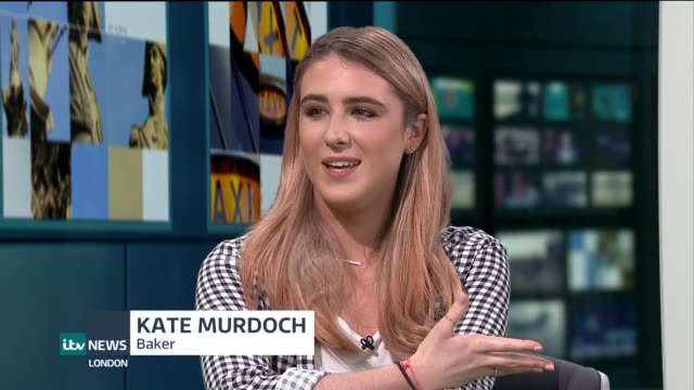 'Tiny Kitchen' baker makes miniature versions of food ENGLAND London GIR INT Kate Murdoch and Mohammed Ali Salha LIVE STUDIO interview SOT Close...