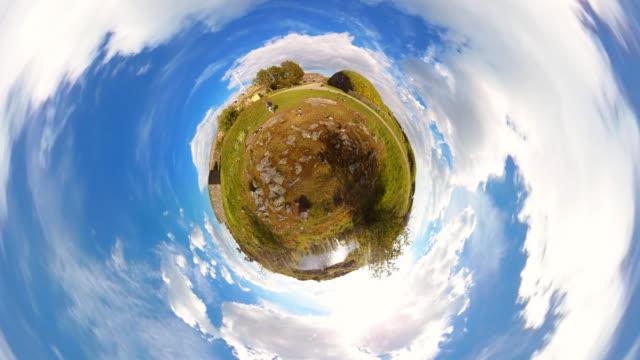 Tiny Planet Helsinki Suomenlinna - 360°