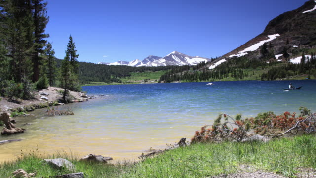 tioga lake -- yosemite national park - yosemite national park stock videos and b-roll footage